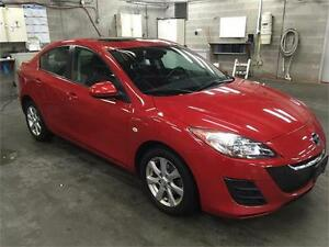 2010 MAZDA 3 SEDAN automatic sunroof NOT a rebuild