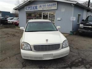 2004 Cadillac DeVille Fully Certified!