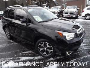 2014 Subaru Forester 2.0XT Touring AWD!! HEATED LEATHER SEATS!!