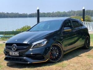 2017 Mercedes-Benz A45 AMG Black Automatic Hatchback Lansvale Liverpool Area Preview