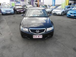 2004 Honda Accord Euro Black 5 Speed Sequential Auto Sedan Greenslopes Brisbane South West Preview