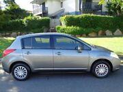 2009 Nissan Tiida C11 MY07 ST Grey Metallic 4 Speed Automatic Hatchback Chermside Brisbane North East Preview