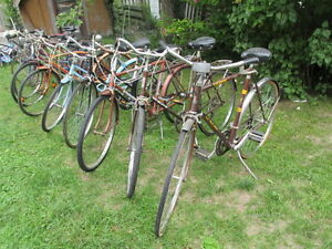 VINTAGE CRUISER AND ROAD BIKES