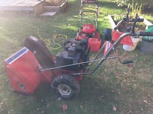 "MTD Snowblower 8HP 26"" cut - just tuned up"