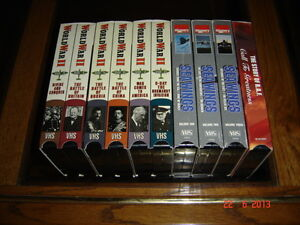 Collectibles VHS Collection [Military Documentary] Gatineau Ottawa / Gatineau Area image 1