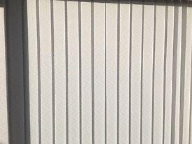 Vertical blinds in decor White, brand new