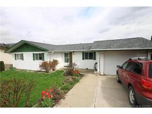 3 bedroom, 2 1/2 large bathroom rancher with walkout basement