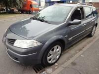 LHD 2006 RENAULT MEGANE 1.5DCI SPORT TOURER 6 SPEED FRENCH REGISTERED