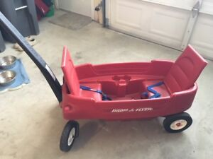 Children's radio flyer wagon and more