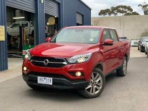 2019 Ssangyong Musso Red Sports Automatic Utility Hoppers Crossing Wyndham Area Preview
