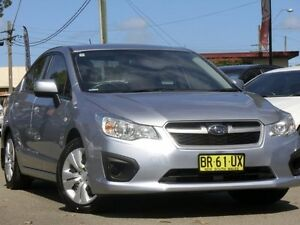 2012 Subaru Impreza G4 MY12 2.0i Lineartronic AWD Blue 6 Speed Constant Variable Sedan Condell Park Bankstown Area Preview