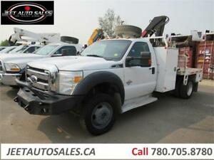 2011 Ford Super Duty F-550 DRW XLT