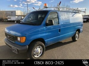 2007 Ford E-250 Cargo Van Roof Rack - Shelving - Partition Comme