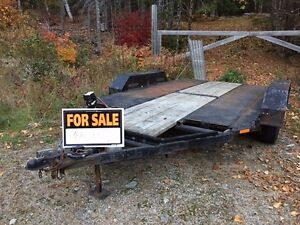 Flatbed trailer for Sale - Homemade Priced to sell -Sale Pending