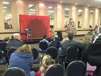 Red Curtain Backdrop For Rent - Great For Your Photos or Table!