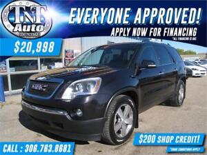 2011 GMC Acadia AWD-LEATHER-7 PASSENGER-BACK UP CAM-APPLY NOW!