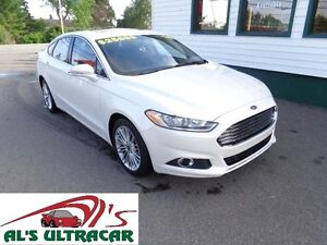 2016 Ford Fusion SE AWD Pearl White only $196 bi-weekly all in!