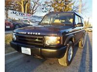 2003 LAND ROVER DISCOVERY AWD BEAUTIFUL BEIGE LEATHER INTERIOR!