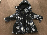 Girls Deigner Coat by Dutch Designer Jottum age 3 - (over £100 new last year) ideal Xmas present