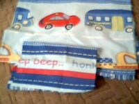 boys single car themed single duvet cover and pillow case hardly used
