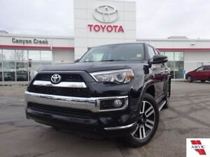 2018 Toyota 4Runner LIMITED V6/AUTO START/ CLEAN CARFAX/ TOYOTA