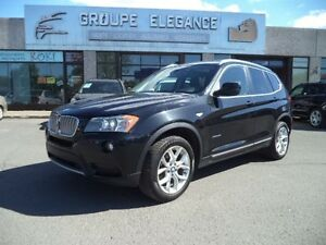 BMW X3 AWD  xDrive28i/TOIT PANO/CAMERA 2014