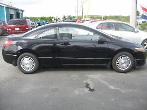 2011 Honda Civic Cpe DX-G...INSPECTED...FINANCING AVAILABLE! St. John's Newfoundland image 2