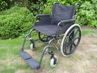 Self Propelled Wide Seat Wheelchair