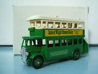 Lledo Promotional LP15 AEC D/D Regent Bus Westridge Isle of Wight Steam Rally 1985 Ryde
