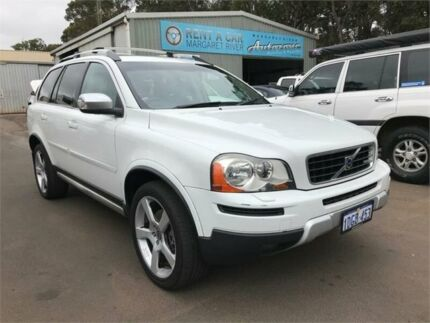 2009 Volvo XC90 MY09 3.2 R-Design White 6 Speed Automatic Geartronic Wagon Margaret River Margaret River Area Preview