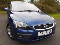 2007 57 FORD FOCUS 1.6 ZETEC CLIMATE 5D 100 BHP** 1 PREVIOUS OWNER , NICE EXAMPL