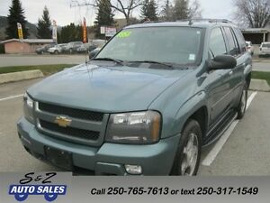 2009 Chevrolet Trailblazer LT LEATHER SUNROOF 4x4