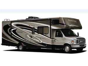 24 Class C Motor Home with Slide Outs for Rent!