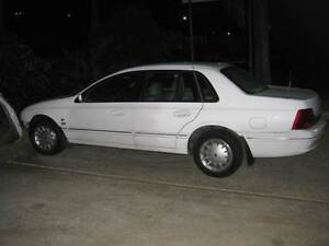 Ford Fairlane ghia au 2000 red tickford motor 137399kms wrecking Nerang Gold Coast West Preview