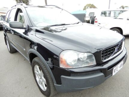 2005 Volvo XC90 P28 MY06 Lifestyle T Black 5 Speed Sports Automatic Wagon Enfield Port Adelaide Area Preview