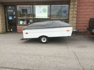 Coleman Colorado Micro Trailer Towed By Anything