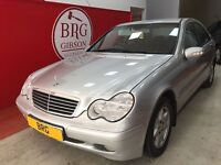 Mercedes-Benz C180K MANUAL COUPE (silver) 2005