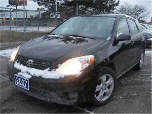 2007 Toyota Matrix AUTOMATIC***************%100 FINANCE APPROVAL