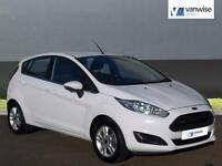 2015 Ford Fiesta ZETEC Petrol white Manual