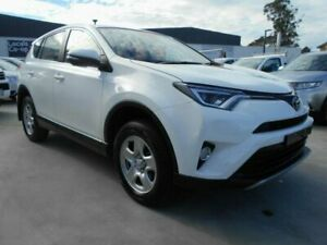 2018 Toyota RAV4 ASA44R GX AWD Glacier White 6 Speed Sports Automatic Wagon North Hobart Hobart City Preview