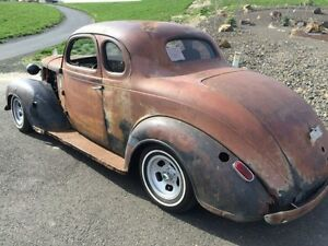 Perfect Rat Rod project 1941 Dodge 5 window coupe body shell
