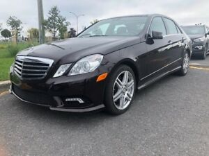 2010 Mercedes-Benz E-Class E550 4MATIC GPS TOIT PANORAMIQUE CUIR