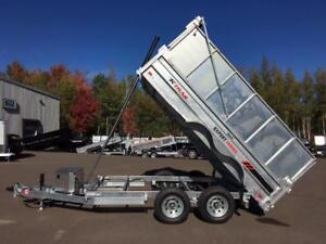 "NEW 2018 K-TRAIL 6' x 12' DUMP TRAILER w/ 36"" SIDE EXTENSIONS"