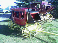 Custom Built Stage Coaches Carriages