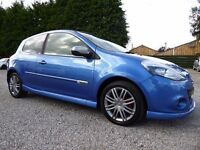 Renault Clio 1.6 GT 130Bhp, Immaculate Car, Only 1 Previous Keeper, Service History,New MOT Included