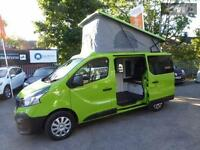 RENAULT TRAFIC SL27 BUSINESS DCI S-R P-V CAMPER CONVERSION, Green, Manual, Diese