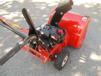 Mastercraft 5Hp Snowblower