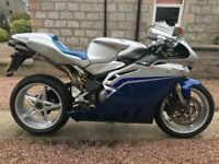 MVAGUSTA F4s 1000. Rare model, Very low milage.