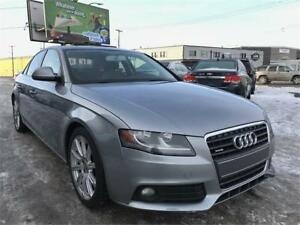 2009 Audi A4 AWD! Leather Seats! Heated Seats! Clean Title!