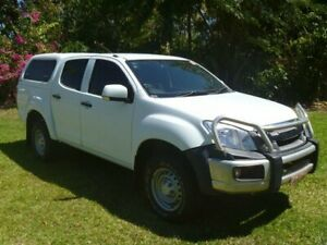 2012 Isuzu D-MAX MY11 SX 4x2 High Ride White 4 Speed Automatic Utility Winnellie Darwin City Preview
